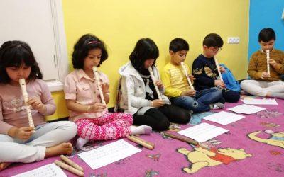 تمرین کنسرت موسیقی کودک